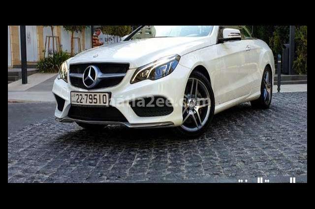 E 400 Mercedes White