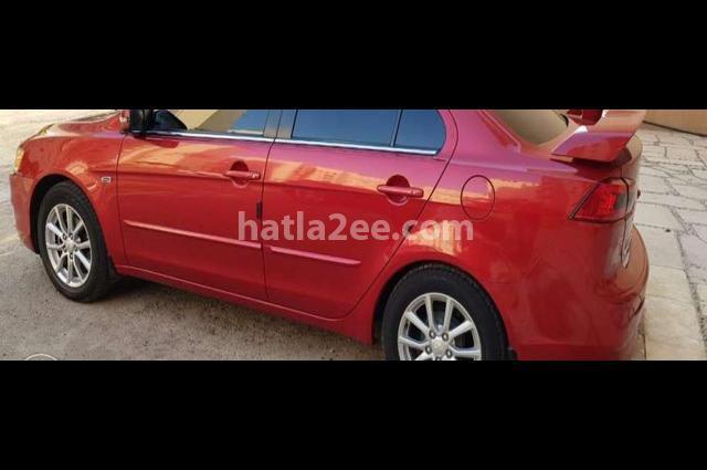 Lancer Mitsubishi Red