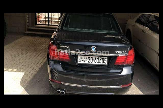 730 BMW أسود