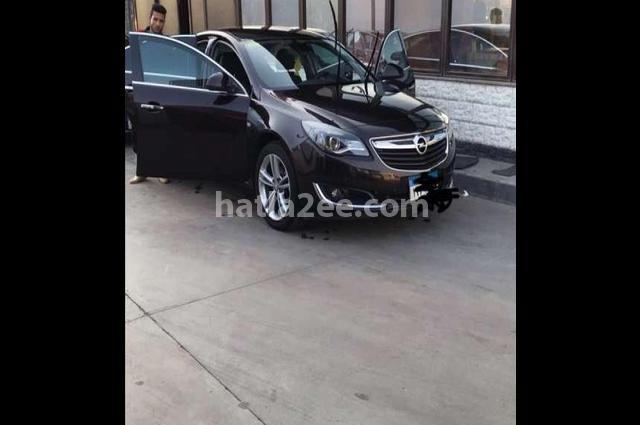 Insignia Opel بني