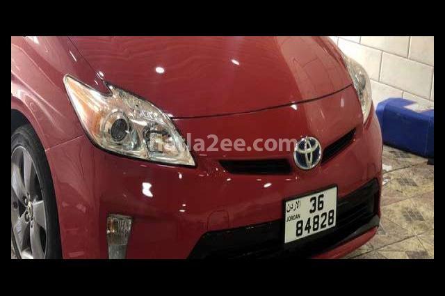 Prius Toyota Red