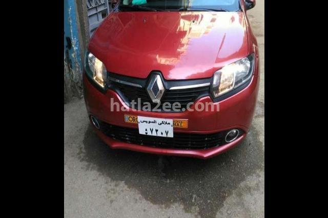 Logan Renault احمر غامق