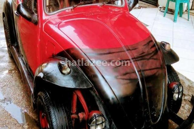 Beetle Volkswagen Red