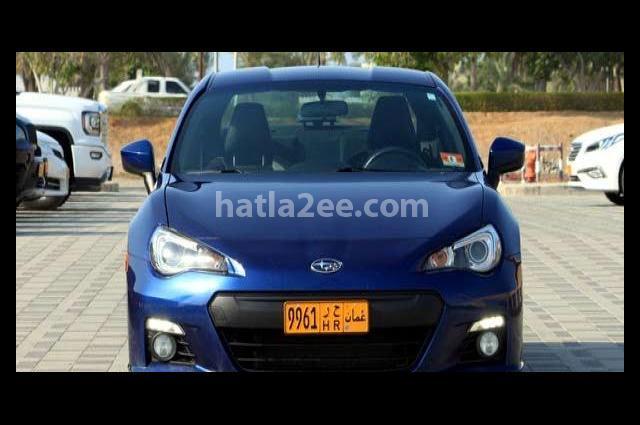 BRZ Subaru Blue