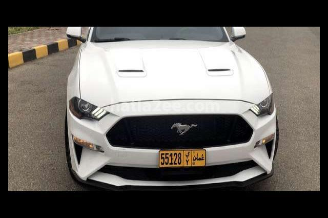 Mustang Ford White