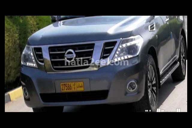 Patrol Nissan رمادي