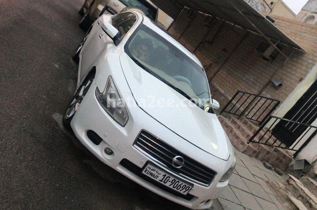 Maxima Nissan White