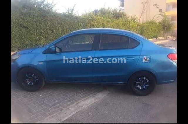Attrage Mitsubishi Blue
