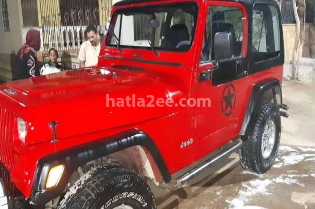 Wrangler Jeep Red