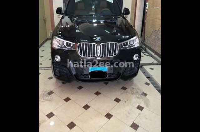 X4 BMW أسود