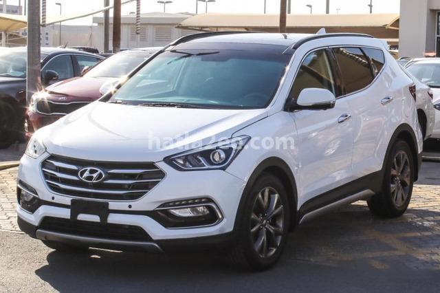 Santa Fe Hyundai White