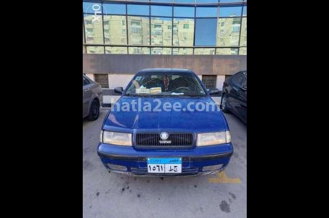 Octavia A4 Skoda Blue