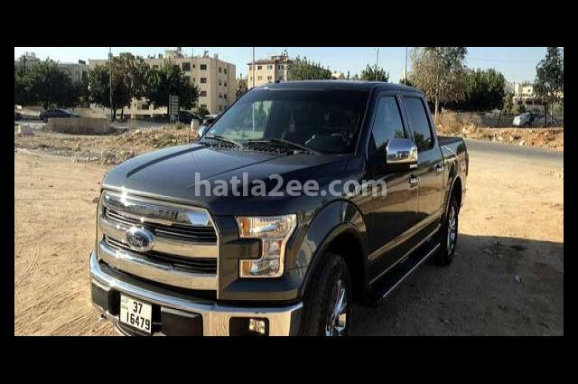 F-150 Ford رمادي