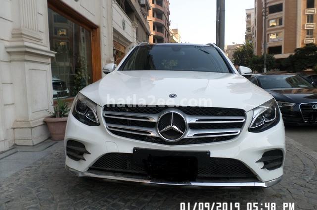 GLC 250 Mercedes أبيض