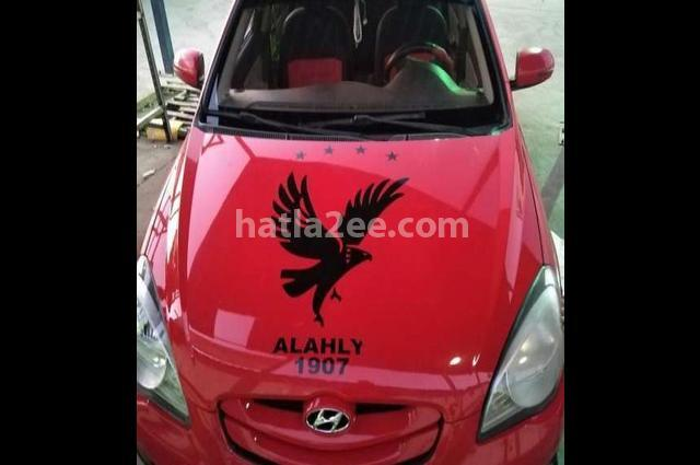 Accent Hyundai Red