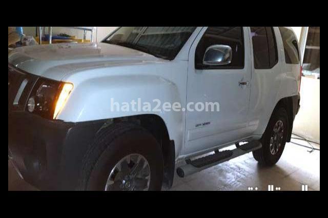 Xterra Nissan أبيض