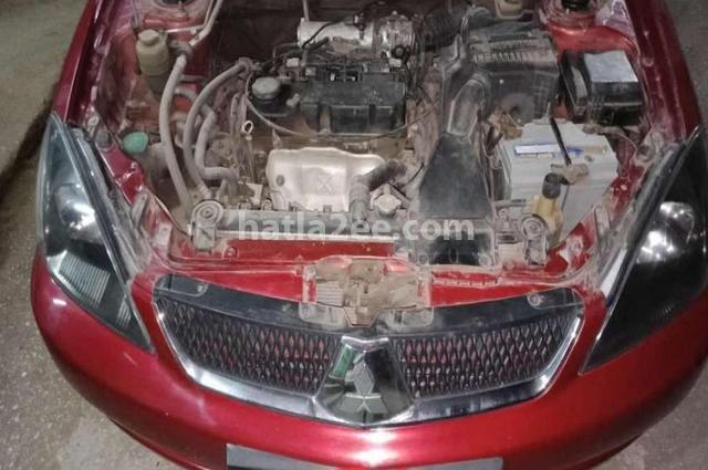 Lancer Mitsubishi Dark red