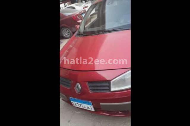 Megane Renault Red