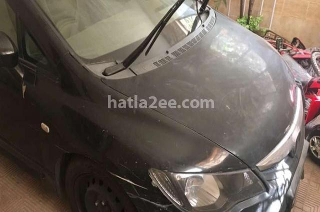 Civic Honda أسود