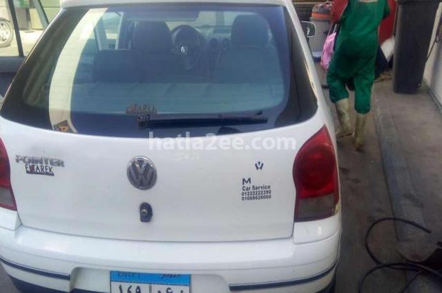 Pointer Volkswagen أبيض