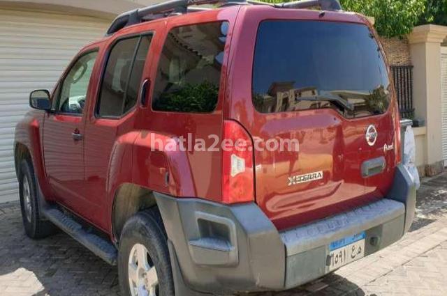 Pathfinder Nissan احمر