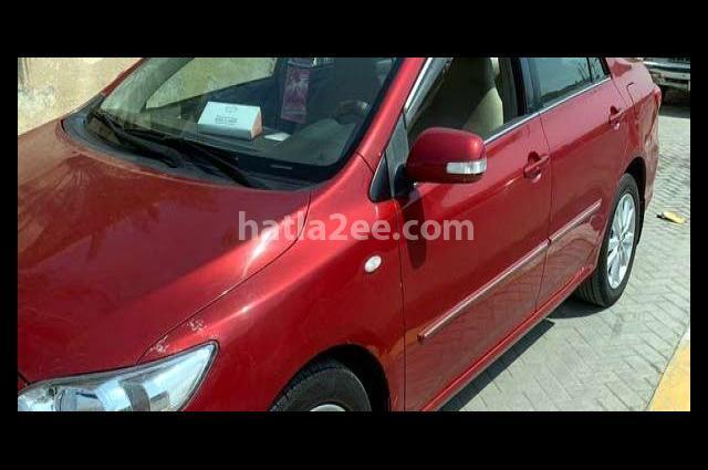 Corolla Toyota Red