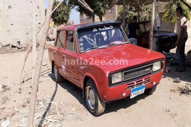 124 Fiat Red
