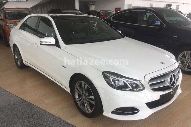 E 180 Mercedes أبيض