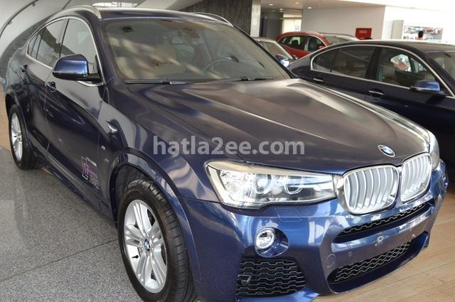 X4 BMW الأزرق الداكن