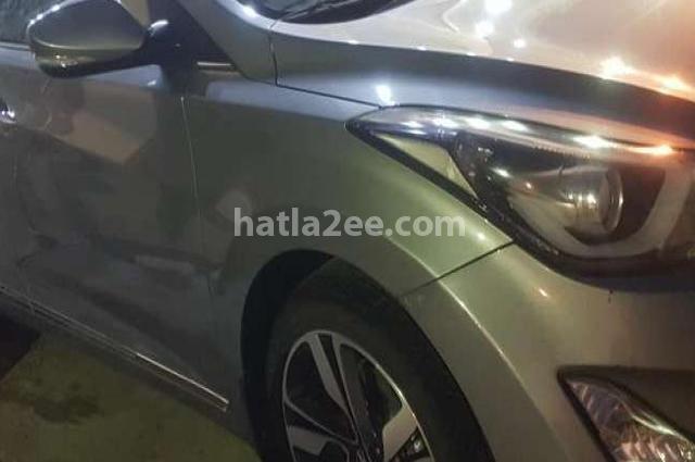 Elantra MD Hyundai رمادي