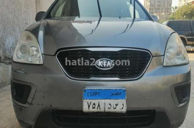 Carens Kia 2012 Nasr city Gray 2788252 - Car for sale : Hatla2ee
