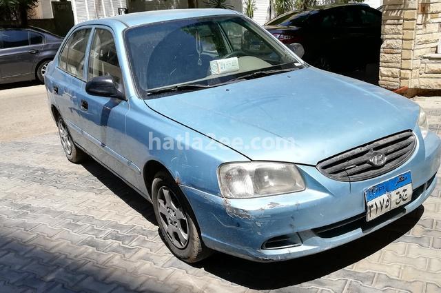 Verna Hyundai Blue