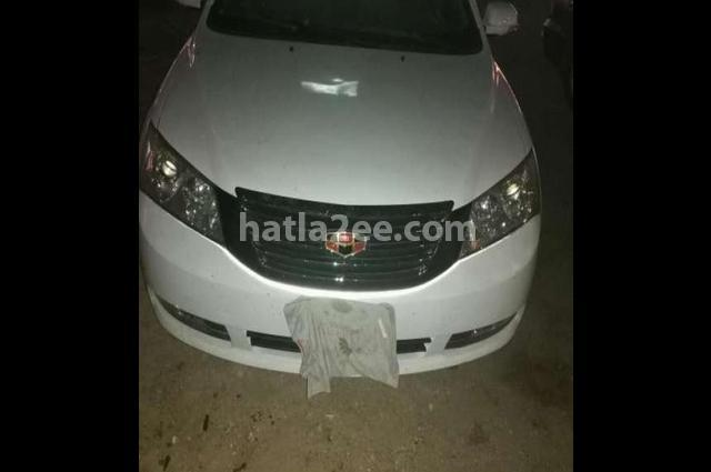 Emgrand 7 Geely White