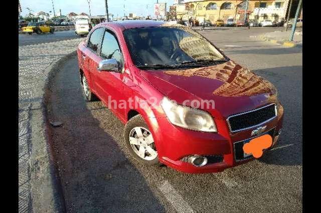 Aveo Chevrolet احمر غامق