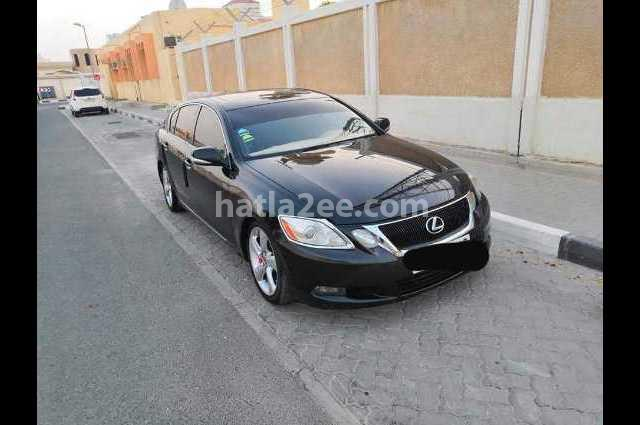 Gs Lexus أسود