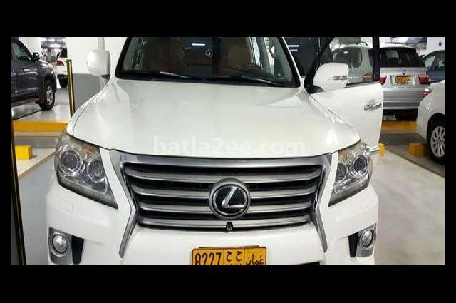 Lx Lexus White