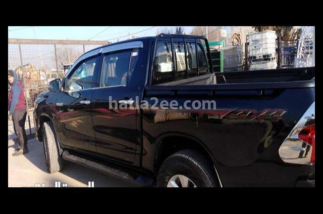 Hilux Toyota Black