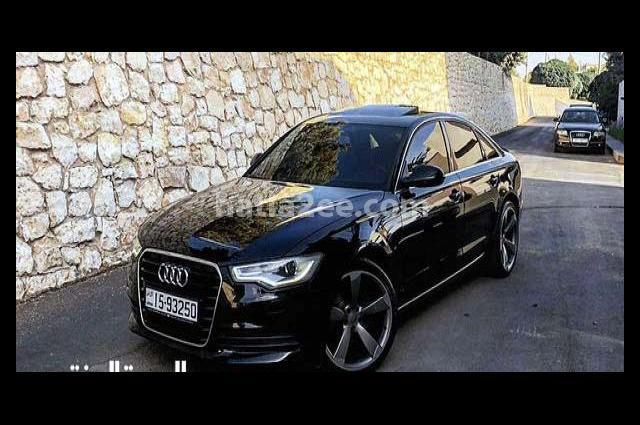 A6 Audi أسود