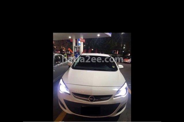 Astra Opel White
