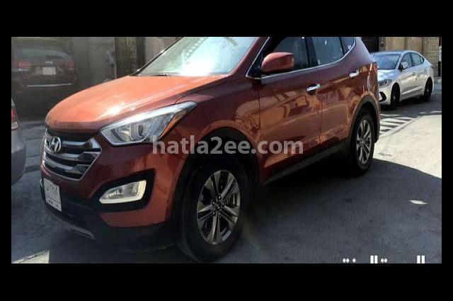 Santa Fe Hyundai Orange