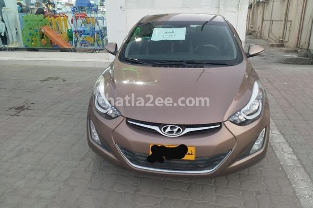 Elantra Hyundai Brown