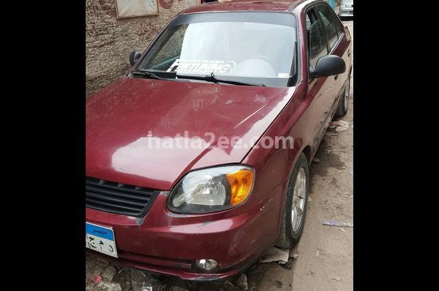 Verna Hyundai Red