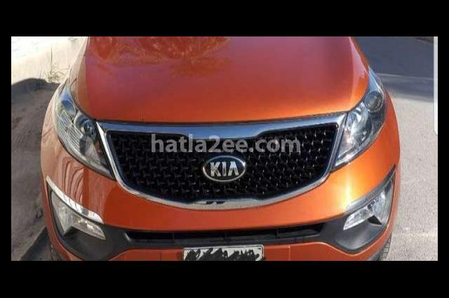 Sportage Kia Orange