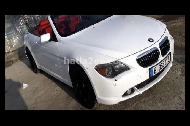645 BMW White