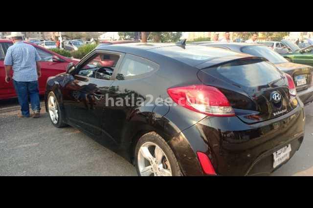 Veloster Hyundai أسود