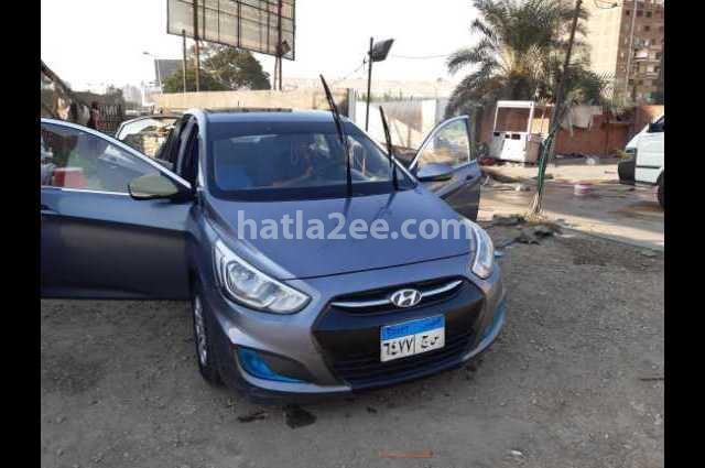 Accent RB Hyundai رمادي