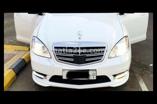 S 350 Mercedes أبيض