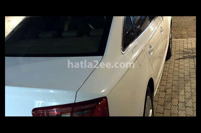 A6 Audi أبيض