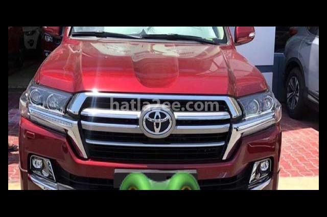 Land Cruiser Toyota Dark red
