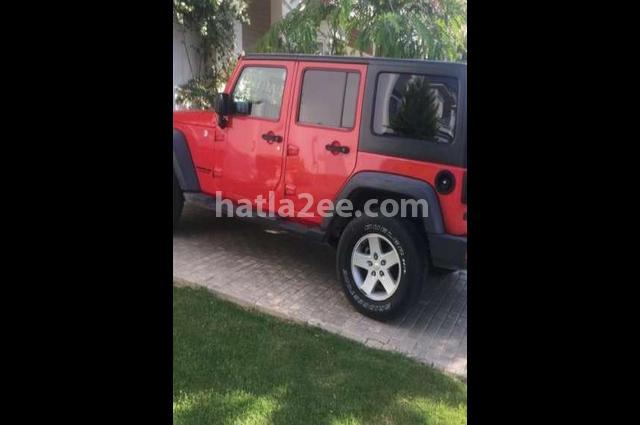 Wrangler Jeep Red